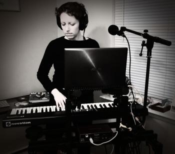 Black & white practice photo