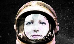 EJK as astronaut