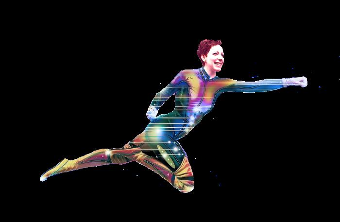 EJK as superhero